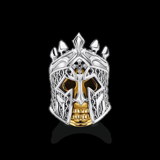 Bague tête de mort chevalier de la collection Rebel at heart dans la boutique en ligne de THOMAS SABO