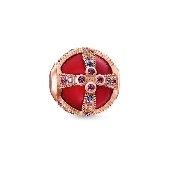 """Bead """"Royalty rouge"""" de la collection Karma Beads dans la boutique en ligne de THOMAS SABO"""
