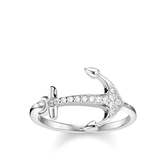 "ring ""anchor"" from the Glam & Soul collection in the THOMAS SABO online store"