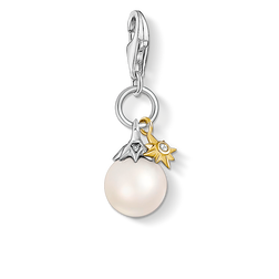 charm pendant pearl star from the Charm Club Collection collection in the THOMAS SABO online store