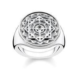 "ring ""Vintage compass silver"" from the Glam & Soul collection in the THOMAS SABO online store"