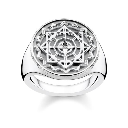ring vintage compass silver from the Glam & Soul collection in the THOMAS SABO online store