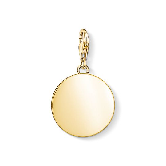 Charm pendant disc from the Charm Club collection in the THOMAS SABO online store