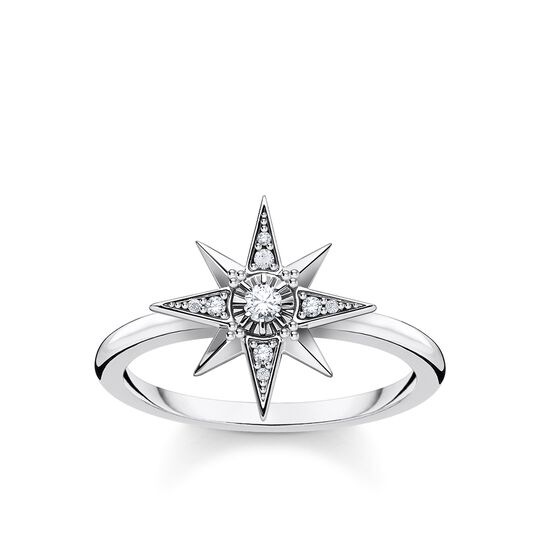 Ring star silver from the Glam & Soul collection in the THOMAS SABO online store