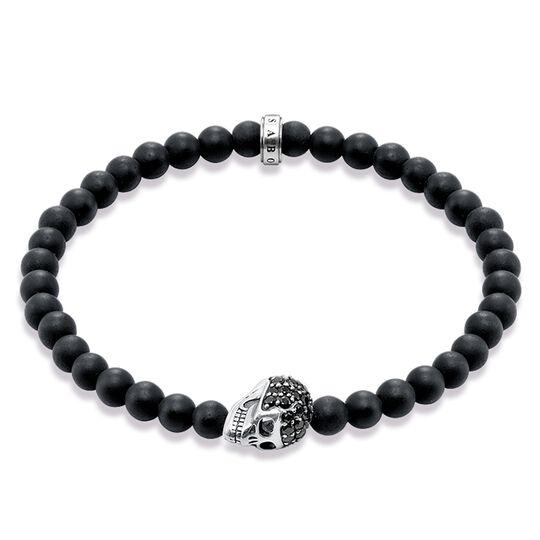 """pulsera """"calavera"""" de la colección Rebel at heart en la tienda online de THOMAS SABO"""