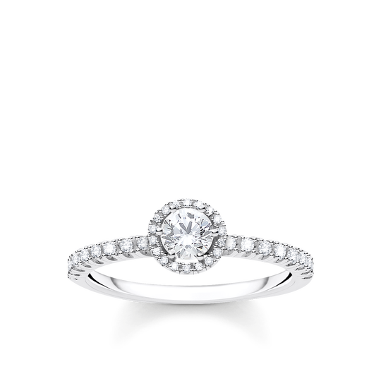 Ring Vita stenar silver ur kollektionen Charming Collection i THOMAS SABO:s onlineshop