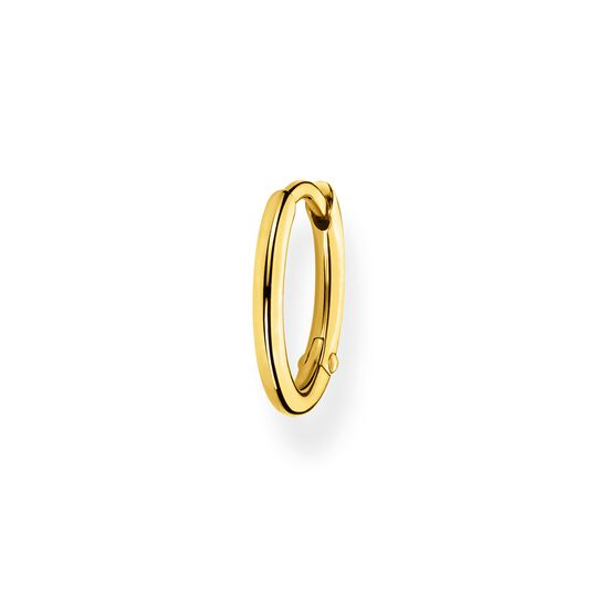 Single hoop earring classic gold from the Charming Collection collection in the THOMAS SABO online store