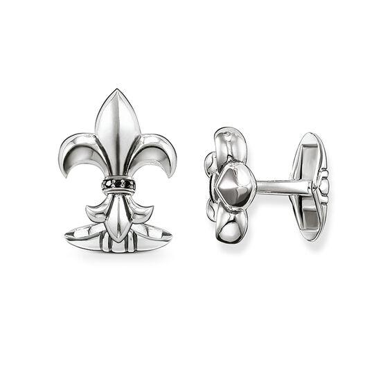 """gemelos """"lirio con diamantes"""" de la colección Rebel at heart en la tienda online de THOMAS SABO"""