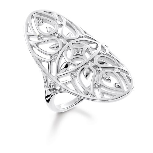 """ring """"ornament"""" from the Glam & Soul collection in the THOMAS SABO online store"""