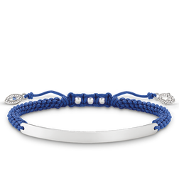 bracelet Nazars eye blue from the Love Bridge collection in the THOMAS SABO online store
