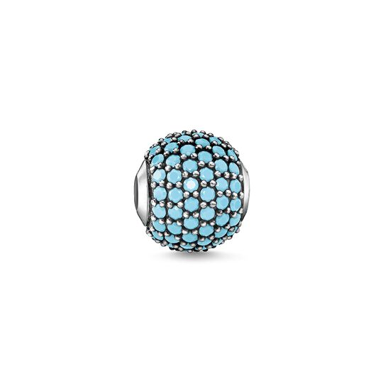 Bead pavé turquoise from the  collection in the THOMAS SABO online store