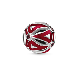 Bead Ethnique rouge de la collection Karma Beads dans la boutique en ligne de THOMAS SABO