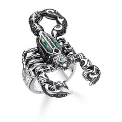 "Ring ""Skorpion"" aus der Rebel at heart Kollektion im Online Shop von THOMAS SABO"