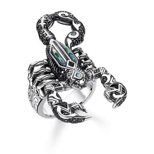 ring scorpion from the Rebel at heart collection in the THOMAS SABO online store