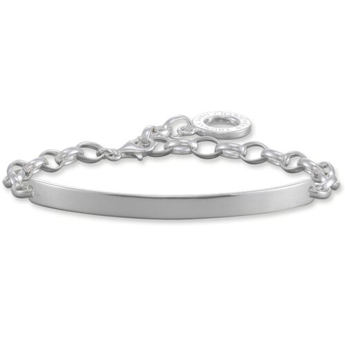 Charm bracelet from the Love Bridge collection in the THOMAS SABO online store