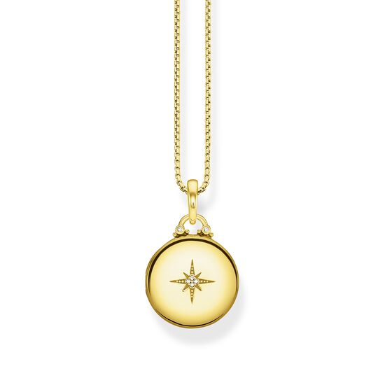 TS Gold Locket