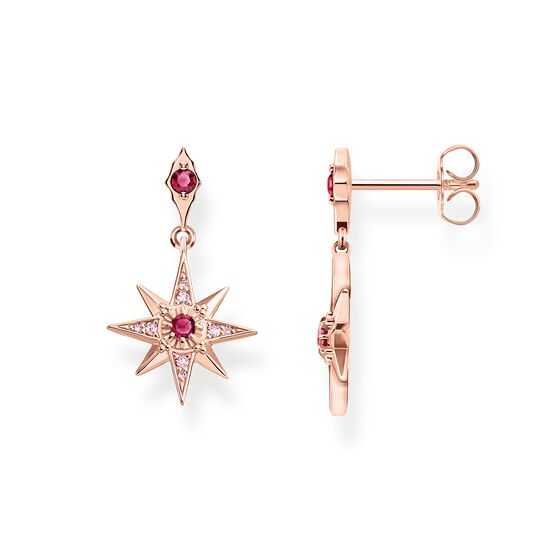 earrings star pink from the Glam & Soul collection in the THOMAS SABO online store