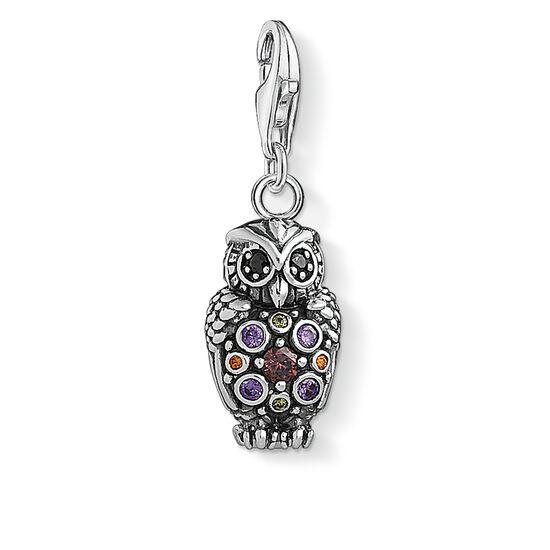 "pendentif Charm ""Chouette scintillante"" de la collection  dans la boutique en ligne de THOMAS SABO"