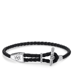 bracelet cuir ornement de la collection Rebel at heart dans la boutique en ligne de THOMAS SABO