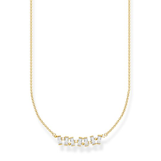 Necklace white stones gold from the Charming Collection collection in the THOMAS SABO online store