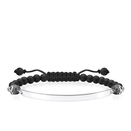bracelet skull pavé from the Love Bridge collection in the THOMAS SABO online store