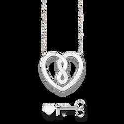 Ge bort kärlek  Romantiska smycken med hjärtan – THOMAS SABO 873b9fab485e0