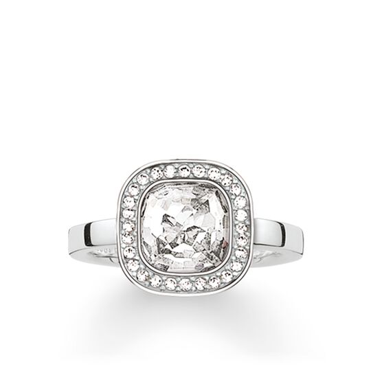 solitaire ring white cosmo from the Glam & Soul collection in the THOMAS SABO online store