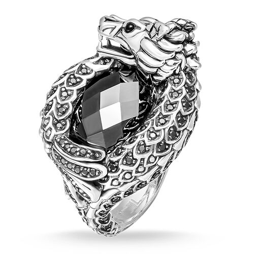 "ring ""dragon"" from the Rebel at heart collection in the THOMAS SABO online store"