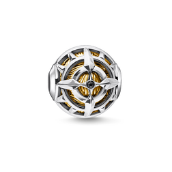 Bead compass gold from the Karma Beads collection in the THOMAS SABO online store