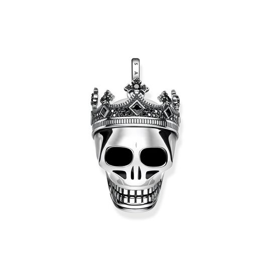 Pendant skull crown from the  collection in the THOMAS SABO online store