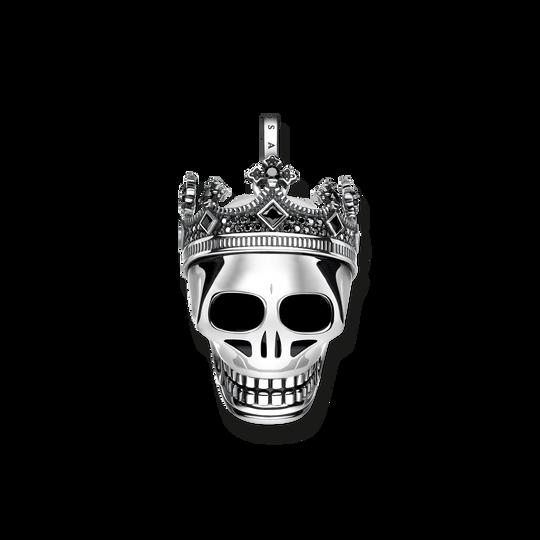 pendentif Tête de mort couronne de la collection Rebel at heart dans la boutique en ligne de THOMAS SABO