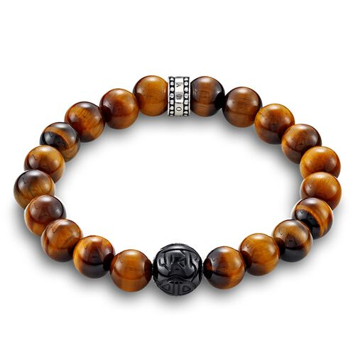 """bracelet """"brown"""" from the Rebel at heart collection in the THOMAS SABO online store"""