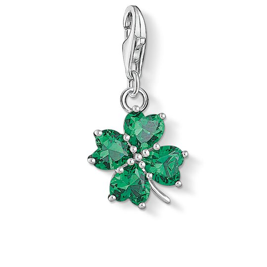 Charm pendant cloverleaf from the  collection in the THOMAS SABO online store