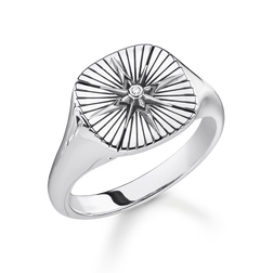"ring ""Vintage Star"" from the Rebel at heart collection in the THOMAS SABO online store"