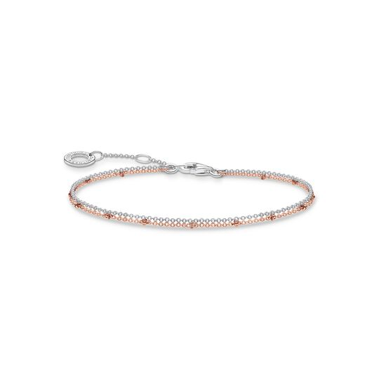 Bracelet double rose gold from the Charming Collection collection in the THOMAS SABO online store