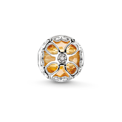 "Bead ""orange lotus flower"" from the Karma Beads collection in the THOMAS SABO online store"