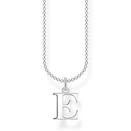 Necklace letter E from the Charming Collection collection in the THOMAS SABO online store