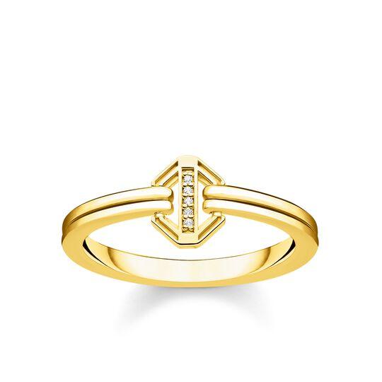 anillo Vintage dorado de la colección Glam & Soul en la tienda online de THOMAS SABO