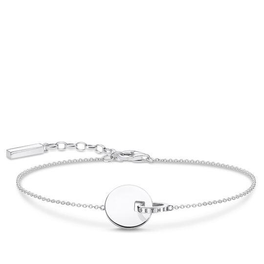 bracelet Together coin with silver-coloured ring from the Glam & Soul collection in the THOMAS SABO online store