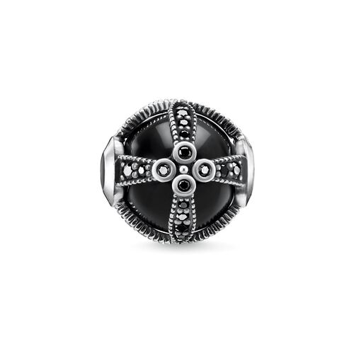 "Bead ""Royalty Black"" from the Karma Beads collection in the THOMAS SABO online store"