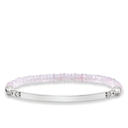 "bracelet ""pink heart"" from the Love Bridge collection in the THOMAS SABO online store"