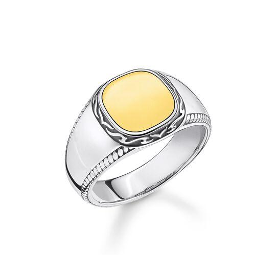 Ring Tiger Muster gold aus der  Kollektion im Online Shop von THOMAS SABO