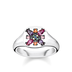 "ring ""Colourful Stones"" from the Glam & Soul collection in the THOMAS SABO online store"