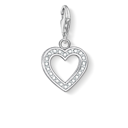 "Charm pendant ""heart"" from the  collection in the THOMAS SABO online store"