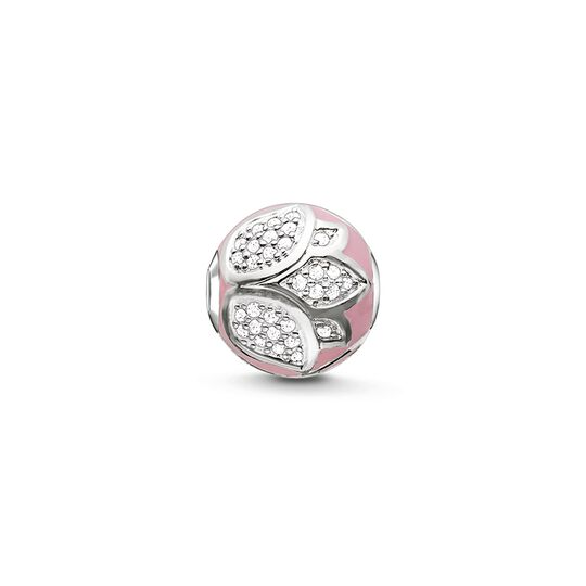Bead pink lotus blossom from the Karma Beads collection in the THOMAS SABO online store