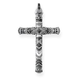 "pendant ""Maori Cross Large"" from the Rebel at heart collection in the THOMAS SABO online store"