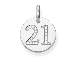 "pendant ""Coin 21"" from the Love Bridge collection in the THOMAS SABO online store"