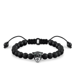 "Armband ""Black Cat Onyx"" aus der Rebel at heart Kollektion im Online Shop von THOMAS SABO"
