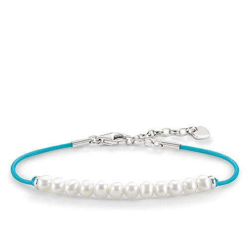 "bracciale con perla ""bianco"" from the Love Bridge collection in the THOMAS SABO online store"
