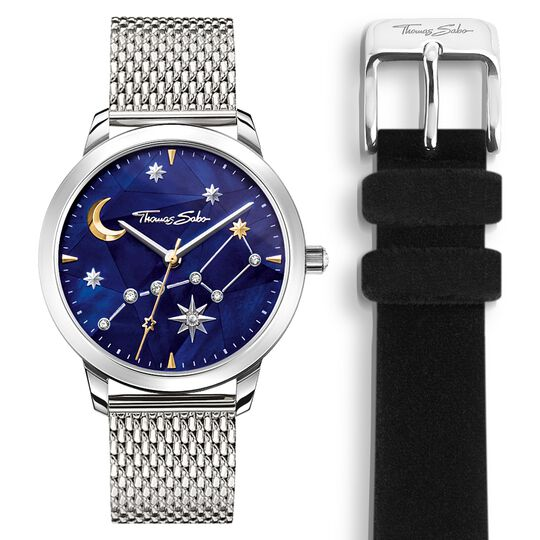 Women's watch Spirit Cosmos starry sky silver from the Glam & Soul collection in the THOMAS SABO online store